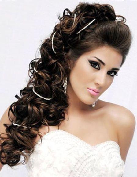 Greek curly hairstyles