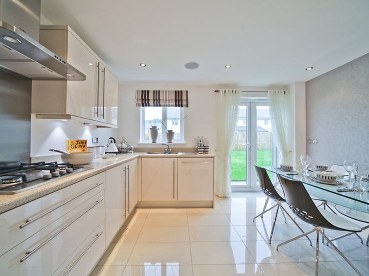 Bright and spacious kitchen diner from our development in Kilsyth.