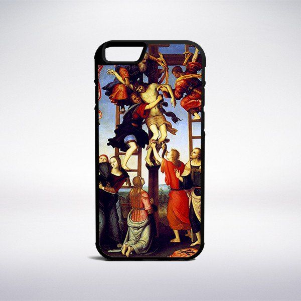 Pietro Perugino - Deposition From The Cross Phone Case – Muse Phone Cases