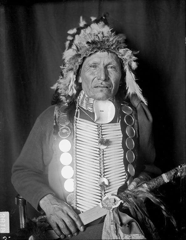 Shooting Hawk... Yankton, 1905. Yankton Reservation. SD.