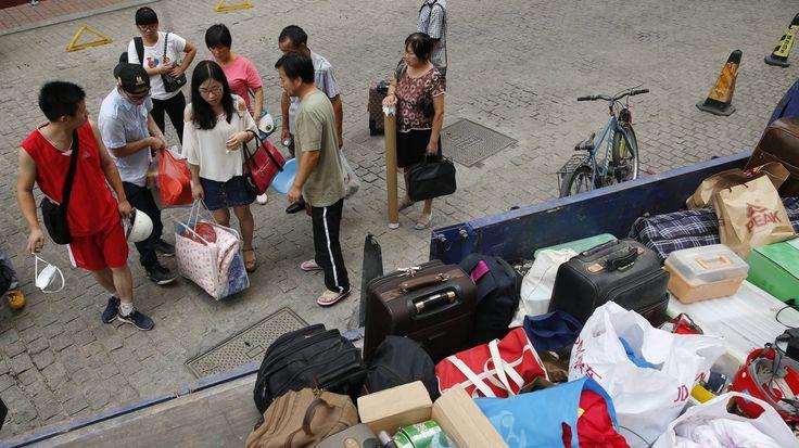 China Evacuates Tianjin Blast Site As Sodium Cyanide Found