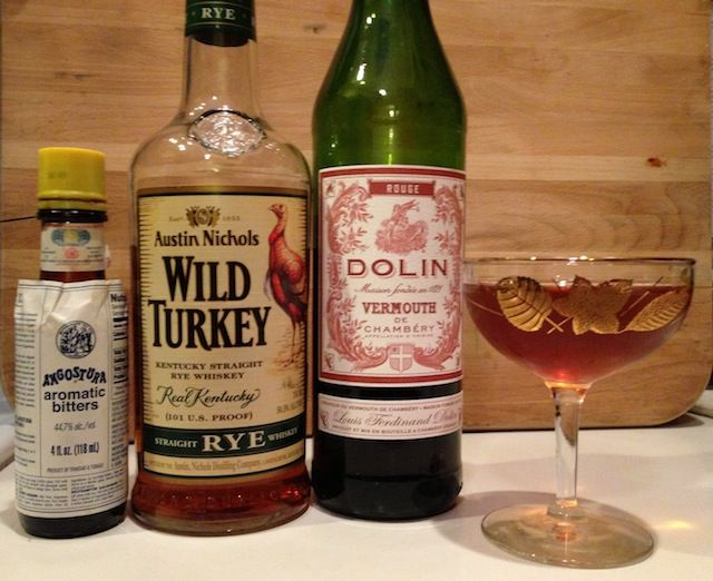 Mixing With: How To Make A Manhattan - Drink Spirits