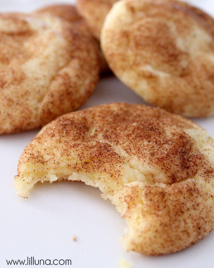 Delicious Snickerdoodles - our favorite recipe!!