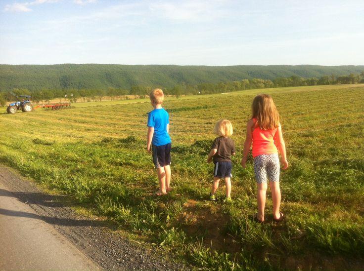family. farmer Andy. farmer. dairy. Reed Gap Farms