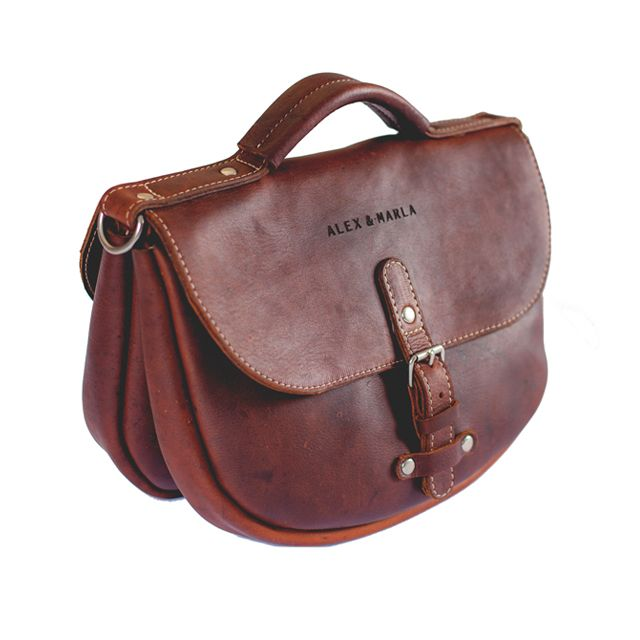 Leather Saddle Bag │ALEX & MARLA #handmadeleather #vintage #southafrica Have a look at my talented friend's handmade leather bags.