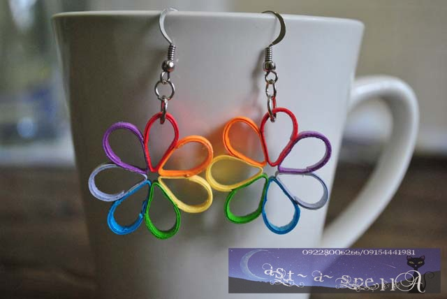 Handmade Paper Quilling Jewelry