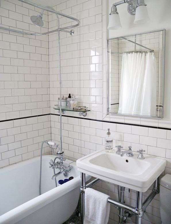 See this 105-year-old home's bathroom go from blue to beautiful via TODAY.com