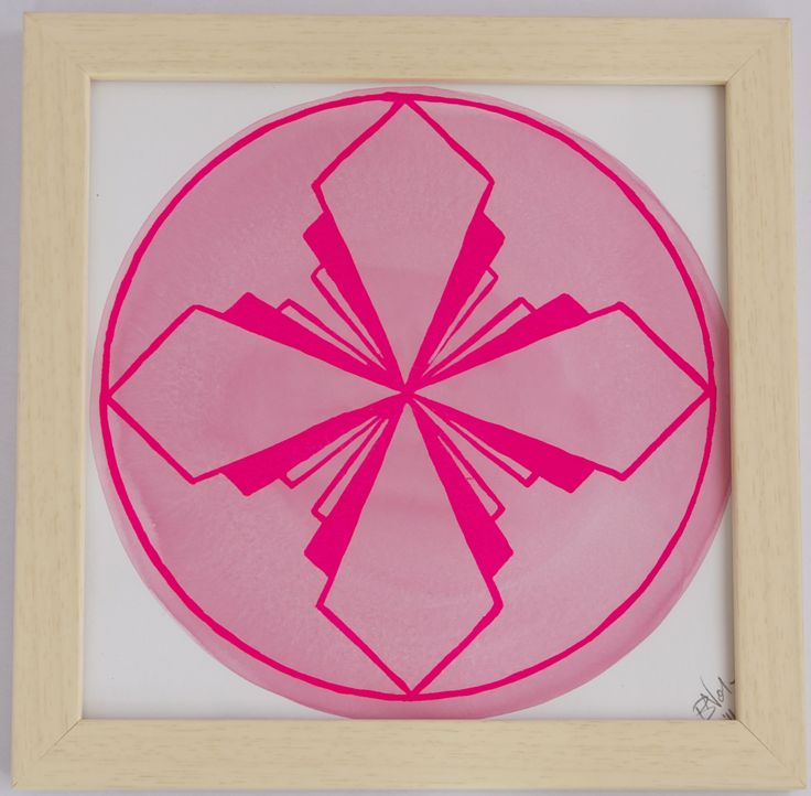 Mandala One – Pink on Pink Briony Nolan