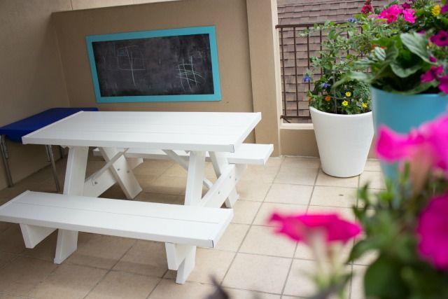 Create An Outdoor Chalkboard For Kids