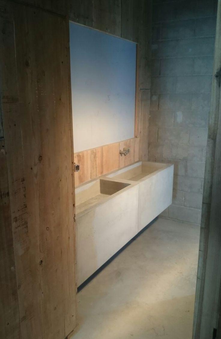 M s de 1000 ideas sobre ba o de cemento en pinterest for Pica lavabo