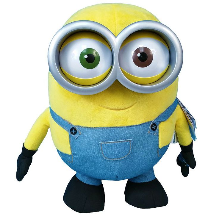 Minions Talking Bob Plush, Multicolor