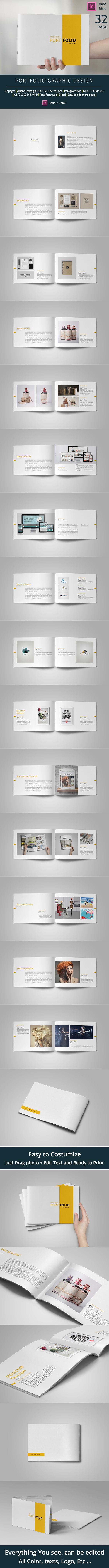 https://www.behance.net/gallery/24281663/Graphic-Design-Portfolio-Template                                                                                                                                                                                 Más