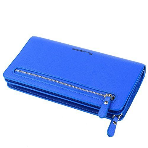 New Trending Purses: BaoLan Womens Wallets Leather Wristlet Clutch Long Wallet Card Holder with Wrist Strap Wallets for Women Royal Blue. BaoLan Women's Wallets Leather Wristlet Clutch Long Wallet Card Holder with Wrist Strap Wallets for Women Royal Blue   Special Offer: $10.99      366 Reviews Item Type: Wallet Outer Material: PU Leather Inner Material: Polyester Closure: Zipper Pattern: Solid Size: Approx....