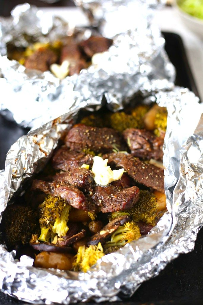 Steak and Potato Foil Pack Dinner: This recipe is an easy dinner meal for any day of the week. For more easy dinner recipes with beef, go to my blog http://bsugarmama.com