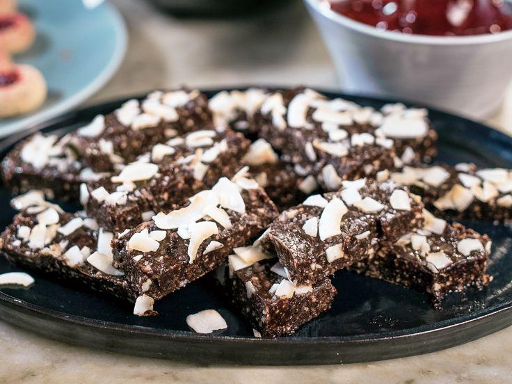 Bars med kokos och kakao   Recept från Köket.se