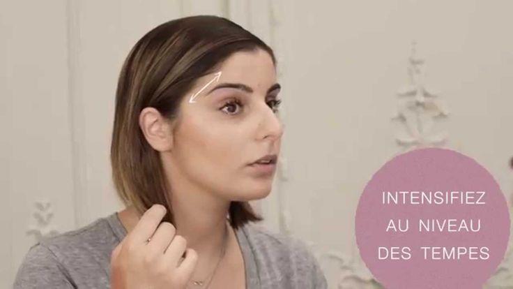 Tuto maquillage - Réussir un contouring sur un visage rond
