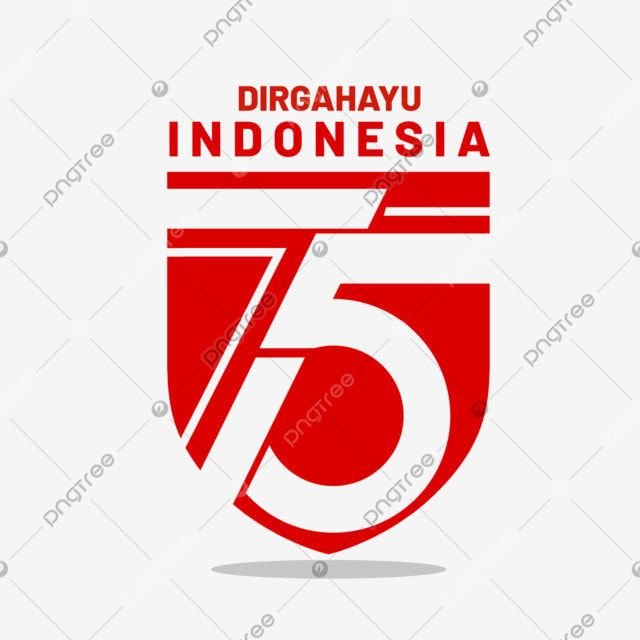 Dirgahayu Indonesia 75th Red Shield Vector Flag Indonesia Dirgahayu Png And Vector With Transparent Background For Free Download Shield Vector Shield Icon Red Shield