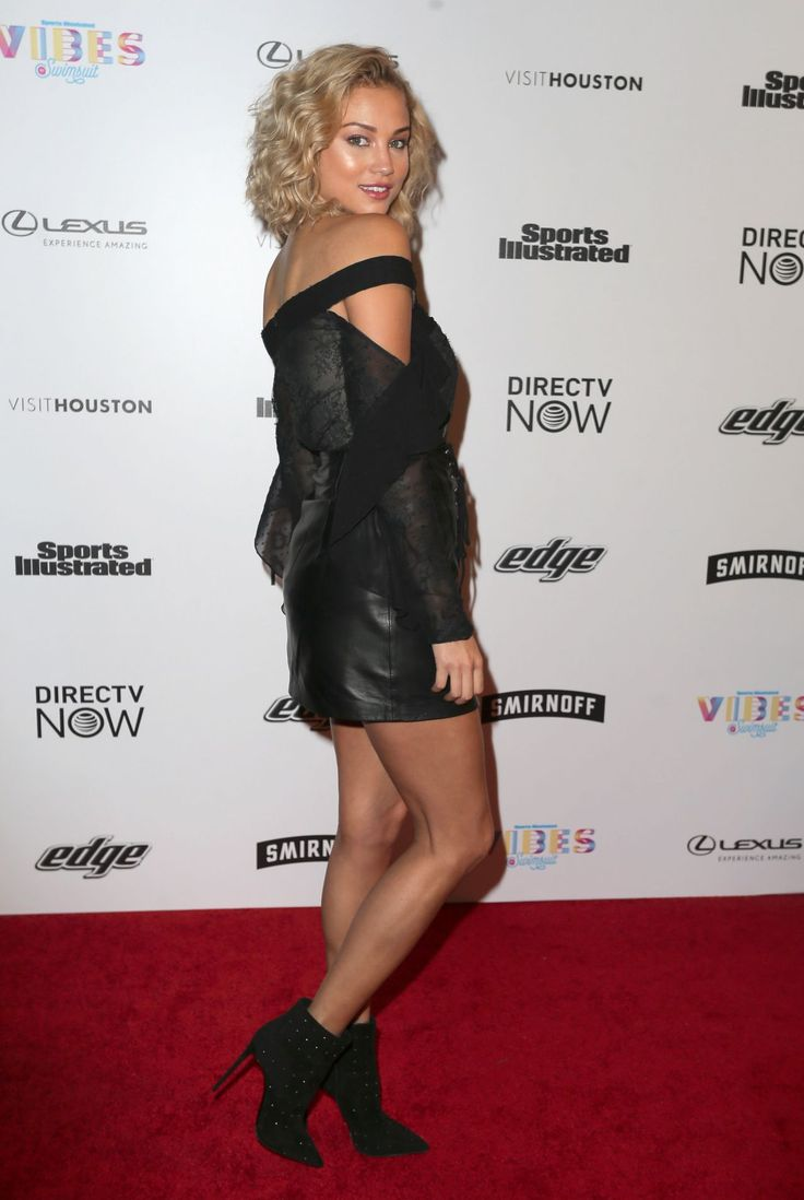 Rose Bertram at the VIBES By SI Swimsuit 2017 Launch, Houston (17 February, 2017)