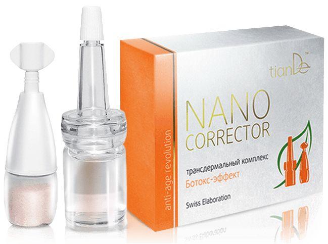 100%Φυσικό προϊόν! Η αποτελεσματικά εναλλακτική λύση για την εξάλειψή των ρυτίδων είναι το Nano Corrector Botox.Δεν δημιουργεί παρενέργειες και βλάβες στο δέρμα,χρησιμοποιώντας τους ρυθμιστές που διεγείρουν και ενεργοποιούν την παραγωγή του δικού του κολλαγόνο.Η έλλειψη του οποίου οδηγεί στην εμφάνιση των ρυτίδων.