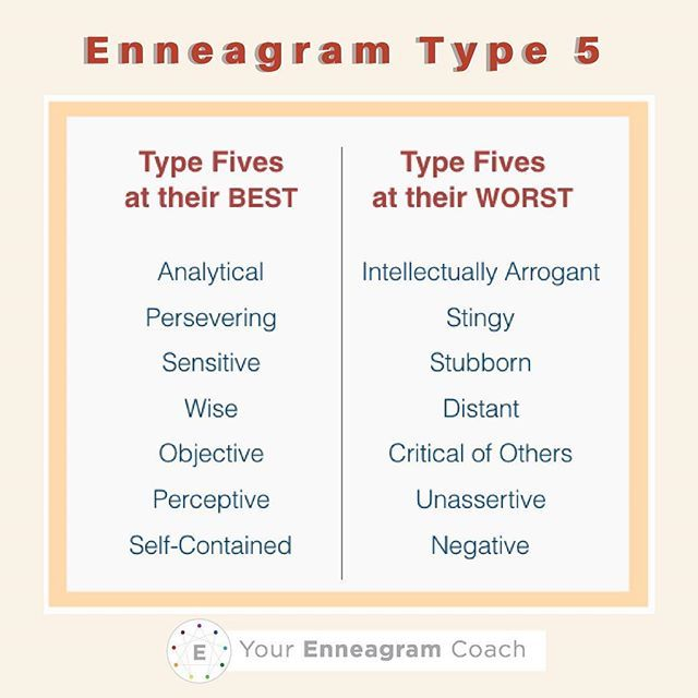 Dating enneagram type 5