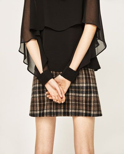 Image 5 of DOUBLE-LAYER FLOWING BLOUSE from Zara