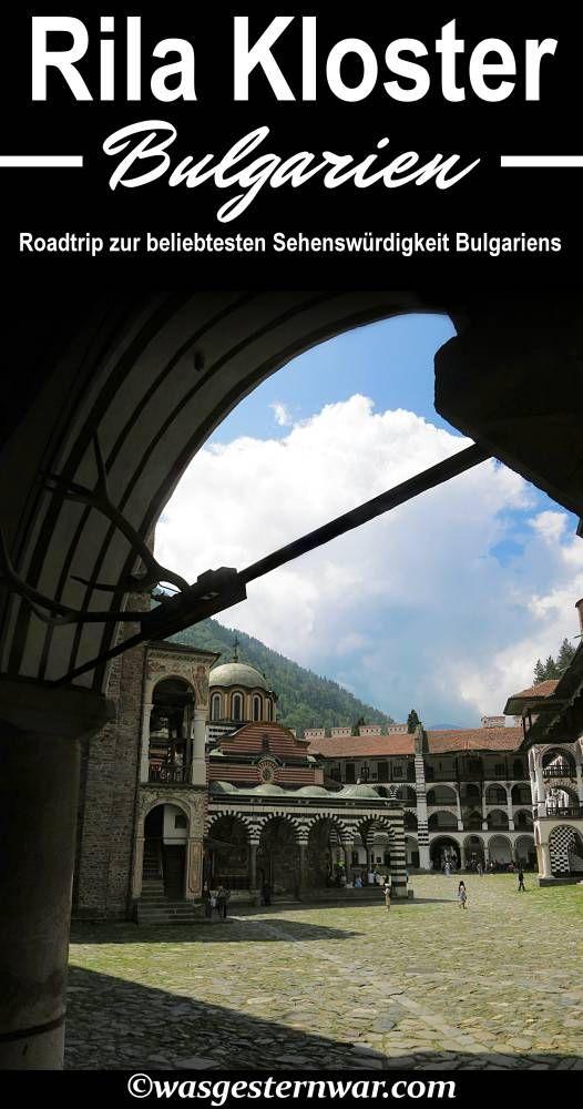 Ein Roadtrip zum Rila Kloster in Bulgarien. Der beliebtesten Sehenswürdigkeit in Bulgarien, ein unvergesslicher Roadtrip!