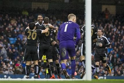 Liga Premier: Leicester vence 3-1 al Man City
