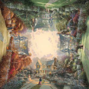 Viktorianischer Garten (Thomas Kinkade) Schmidt Puzzle