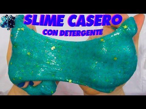 COMO HACER SLIME CASERO SIN BORAX, CON DETERGENTE LIQUIDO. BLANDIBLUB, MOCOS DE GORILA, MOCOS FALSOS - YouTube