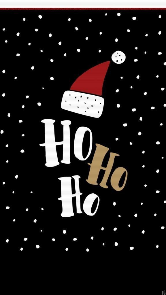 Hi Ho Ho Christmas Cell Phone Wallpaper Applewoodhouse Applewoodhouse Cell Christ Cute Christmas Wallpaper Christmas Phone Wallpaper Christmas Wallpaper