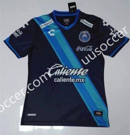 2016-17 Club Puebla Away Blue Thailand Soccer Jersey AAA