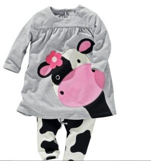 Moo Cow Outfit #babygirl