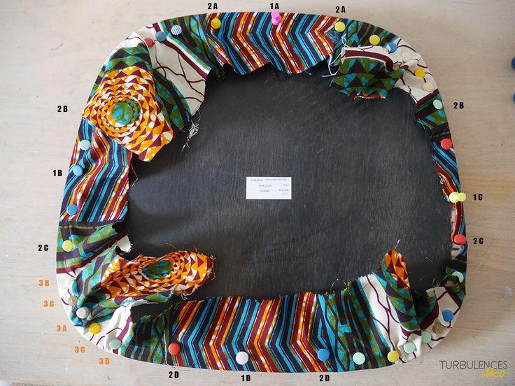 DIY Se faire une chaise en wax - Turbulences Déco