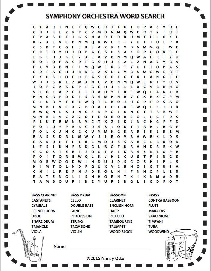It's just a photo of Sly Music Puzzles Printable