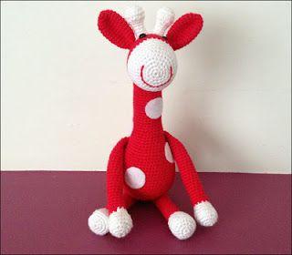 MADRES HIPERACTIVAS: Amigurumi Giraffe English Pattern