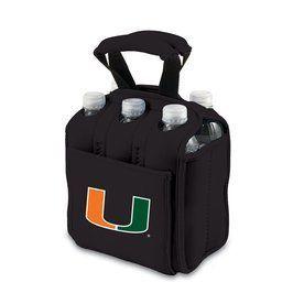 Picnic Time 120-Fl Oz Miami Hurricanes Neoprene Bag Cooler 608-00-179-