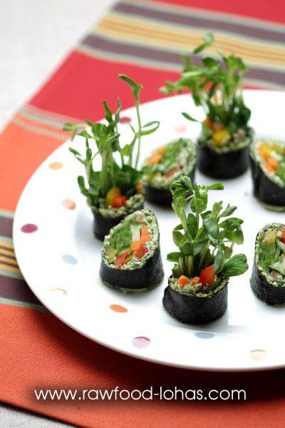 巻き寿司の美味しいパテの作り方! ローフードシェフが教える美味しい ...