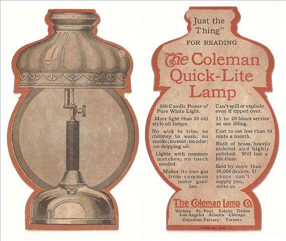 Coleman 242b manual