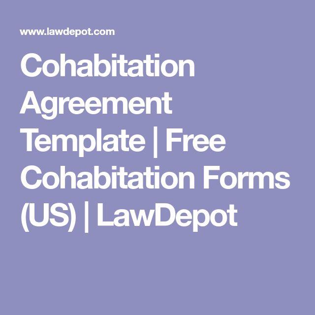 Cohabitation Agreement Template | Free Cohabitation Forms (US) | LawDepot