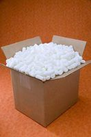 Styrofoam is one of the main materials used to pad items during shipping.