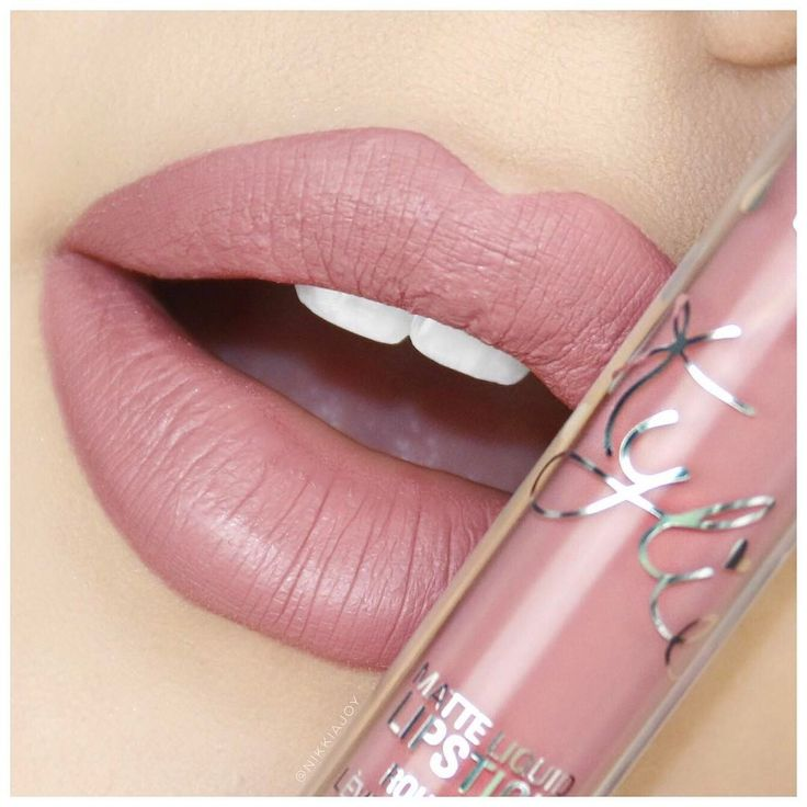 Lip Kit by Kylie Liquid Matte Lipstick :: ANGEL