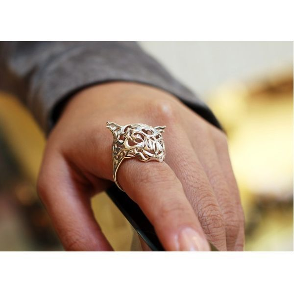 PRODUCTS :: JEWERLY :: WOMEN :: Rings :: Zodiac Tiger Ring
