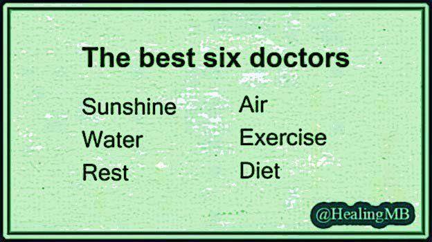 The best 6 doctors ... Preventive Medicine ... #Exercise #Nutrition #SunlightHeals #Sleep