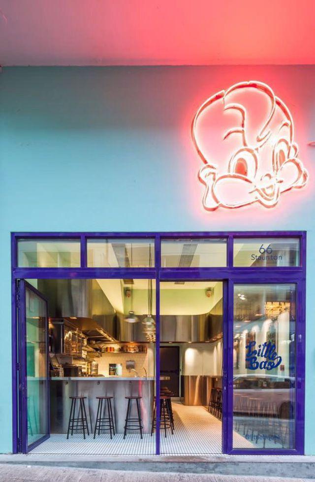 Restaurant Little Bao, à HongKong.