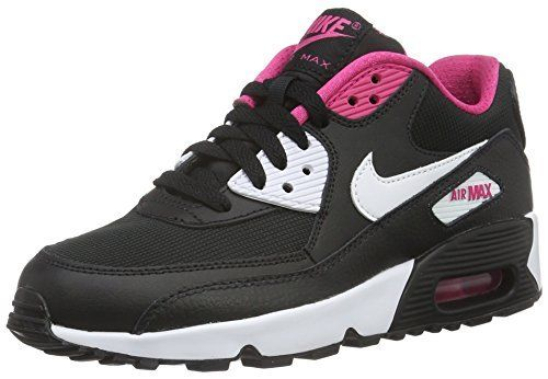 size 40 2560c d5261 Amazon.com NIKE Air Max 90 Mesh GS - 833340105 - Color White - Size 5.5  Shoes  Shoe Mania  Pinterest  Air max 90 and Air max