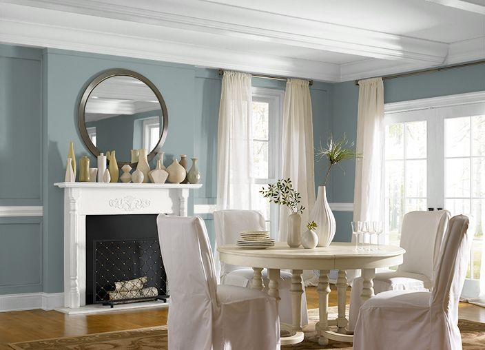 Behr Provence Blue Bathroom | The Project I Created On Behr.com. I Used ·  Living Room Wall ColorsDining ...
