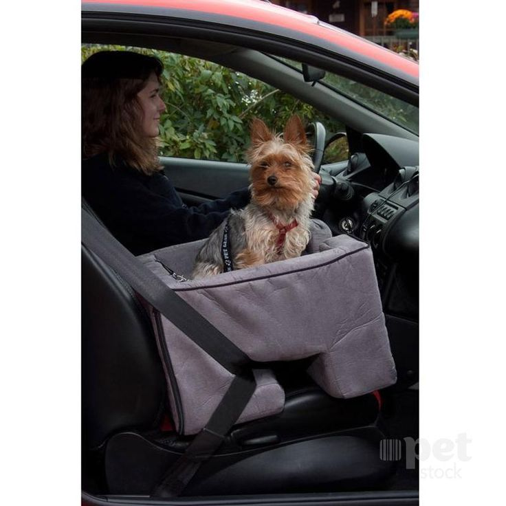 Pet Gear Car Booster Seat Charcoal 22""""