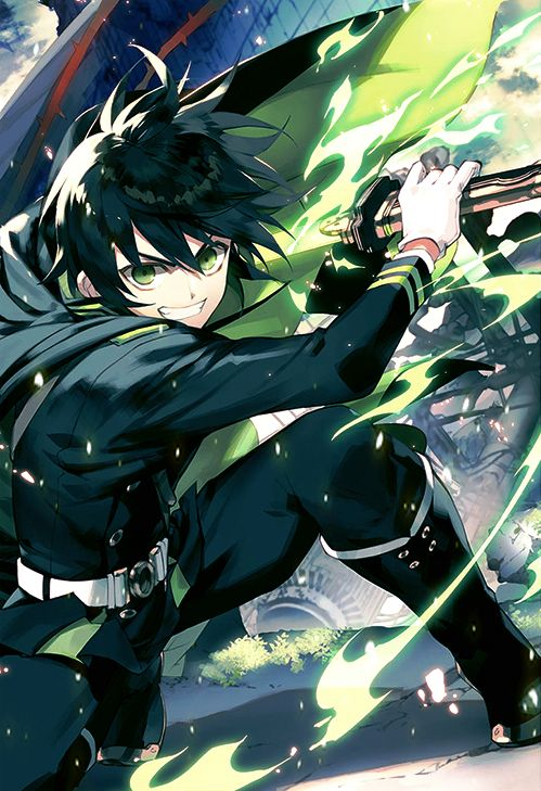 Owari no Seraph / Seraph of the end Mika -> Yūichirō (Yu) Hyakuya