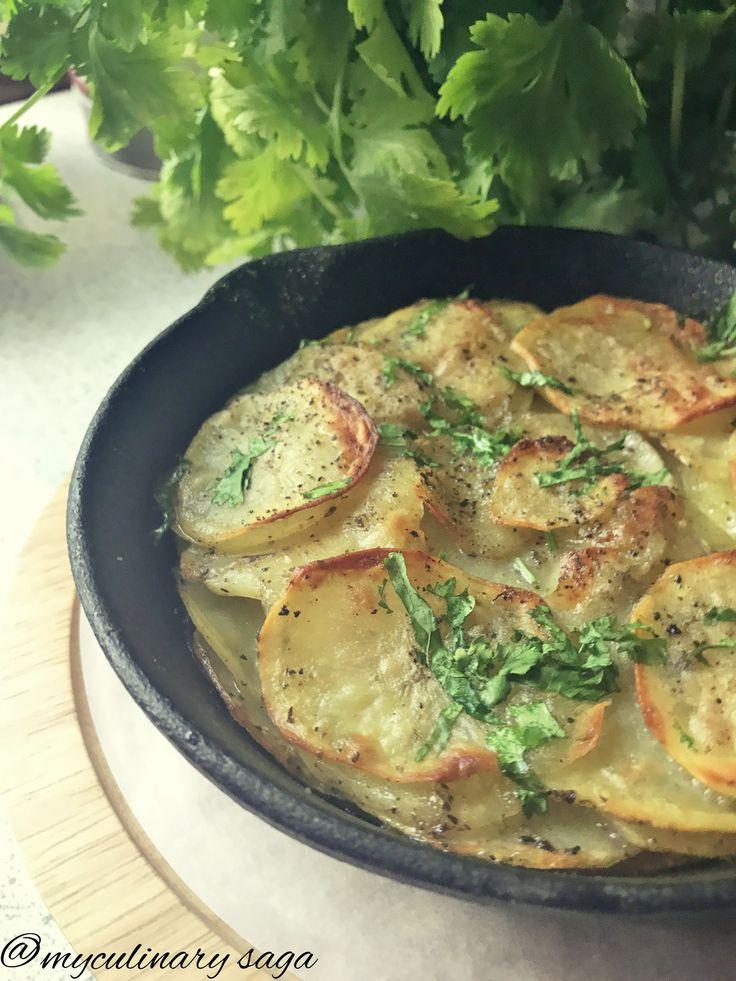 Baked Potato Galette