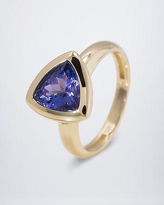 Sogni d'oro® Tansanit-Ring aus GG585 #Edelstein #schmuck von #sognidoro #facettenreich mit #René #Conradt #sogni #doro #classic mit #Frank #Hartenberger und #silberzeit mit #Ute #Wohlfart auf #HSE24 #colored #gemstone #jewelry